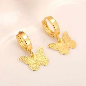 COMING SOON! Yellow Gold Filled Butterfly Earrings